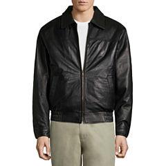 Vintage Leather Lambskin Bomber Jkt Leather Bomber Jacket