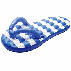 Blue Wave Marine Blue Flip Flop 71-in Inflatable Pool Float