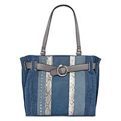 Latique Misty Denim Tote Bag