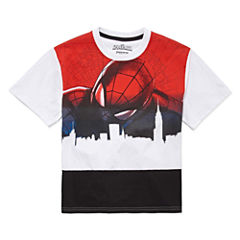 Spiderman Graphic T-Shirt-Big Kid Boys