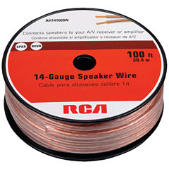 RCA AH14100SR 14-Gauge Speaker Wire (100ft)