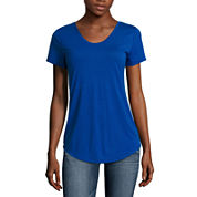 a.n.a Short Sleeve V Neck T-Shirt