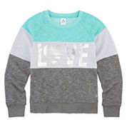 Xersion™ Long-Sleeve Colorblock Sweatshirt - Girls 7-16 and Plus