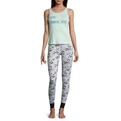 Wallflower Pant Pajama Set-Juniors