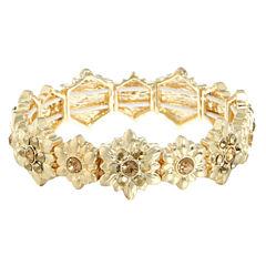 Monet Jewelry Womens Brown Stretch Bracelet
