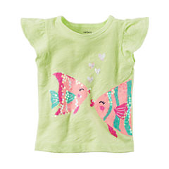 Carter's Short Sleeve and Sleeveless Tops-Baby Girls