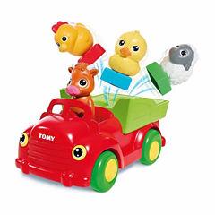 TOMY Sort n' Pop Farm Yard Friends Musical Car
