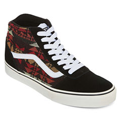 Vans Ward High Top Mens Skate Shoes