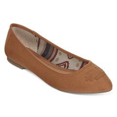 Arizona Calvery Pointed-Toe Slip-On Flats