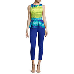 Worthington® Sleeveless Peplum Top or Slim-Fit Ankle Pants