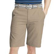 IZOD® Golf Solid Flat-Front Shorts