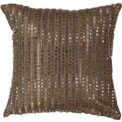 Beauty Rest Sandrine Square Decorative Pillow