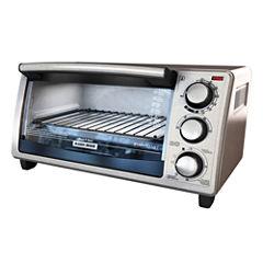Black + Decker 4-Slice Countertop Toaster Oven