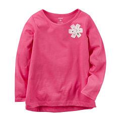 Carter's GirlsLong Sleeve T-Shirt-Baby