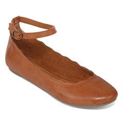 Arizona Cabot Ankle Strap Flats