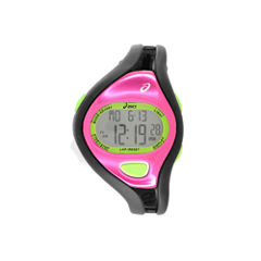 Asics Black/Pink Ar05 Runner Womens Multicolor Strap Watch-Cqar0509y