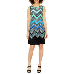Ronni Nicole Sleeveless Shift Dress