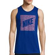 Nike® Palm Print Box Tank Top