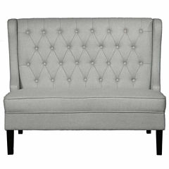 Home Meridian Traditional Diamond Settee