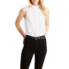 Levi's Sleeveless Button-Front Shirt