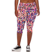City Streets® Performance Cropped Pants - Juniors Plus