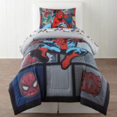 marvel comforters & bedding sets for bed & bath - jcpenney