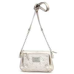 Nicole By Nicole Miller Suzie Quilted Mini Crossbody Wallet