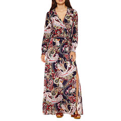 Weslee Rose Long Sleeve Maxi Dress