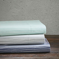 Urban Habitat 200tc Lines Cotton Sheet Set