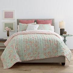JCPenney Home™ Cotton Classics Jardin Reversible Quilt