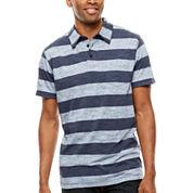 Lee® Short-Sleeve Stripe Pocket Polo - Big & Tall