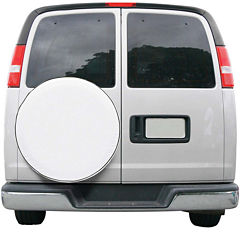 Classic Accessories 75100 Custom Fit Spare Tire Cover, Model 1