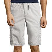 Unionbay® Slaton Pull-on Cotton Cargo Shorts