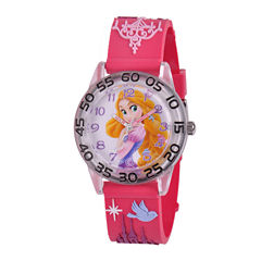 Disney Rapunzel Easy-Read Plastic Strap Watch