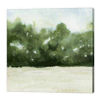 Metaverse Art Loose Landscape I Canvas Wall Art
