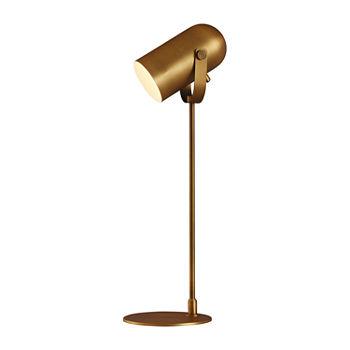 Stylecraft 83 W Brass Steel Table Lamp