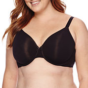 Ambrielle® Everyday Full-Figure Cotton Full-Coverage Bra