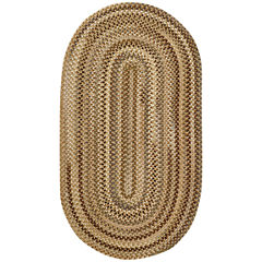 Capel Manchester Reversible Braided Oval Rug