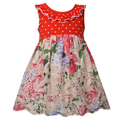 Bonnie Jean Sleeveless A-Line Dress - Baby Girls
