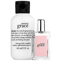 philosophy Amazing Grace Eau De Toilette & Firming Body Emulsion Duo