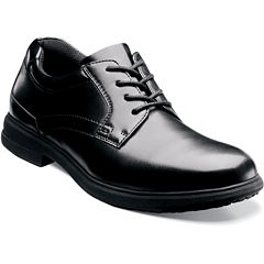 Nunn Bush® Sherman Mens Plain Toe Work Oxfords