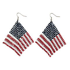 Arizona Mesh Flag Earrings