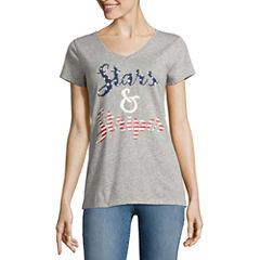 St John S Bay Tall Size T Shirts For Women Jcpenney