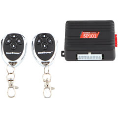 CrimeStopper Security Products SP-101 Universal Entry Level 1-Way Security & Keyless-Entry System