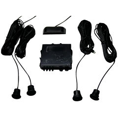 CrimeStopper Security Products CA-5010.II Parking-Sensor System with Top Display (Without Metal Bumper Sensors)