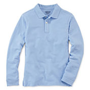 IZOD® Long-Sleeve Piqué Polo - Boys 8-20 and Husky