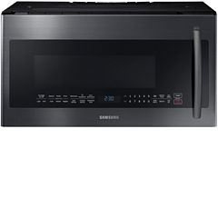 Samsung 2.1 cu. ft. PowerGrill Over-the-Range Microwave with Ceramic Enamel Interior and Glass Touch Controls