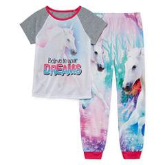 Jelli Fish Kids Sleep Shop 2-pc. Pant Pajama Set Girls