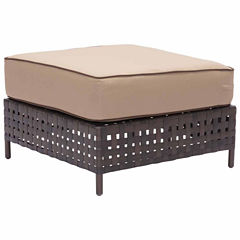 Zuo Modern Pinery Patio Ottoman
