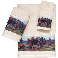 Avanti Black Bear Lodge Bath Towels